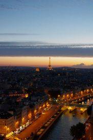 Eiffel Tower Sunset, Paris, France