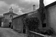 Chapel & La Muse, B&W, Labastide Esparbairenque