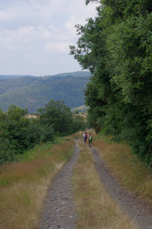 Hikers in France