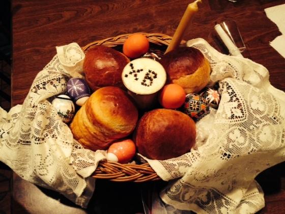 Pascha basket, Easter