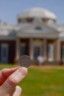 Nickel shot, Monticello