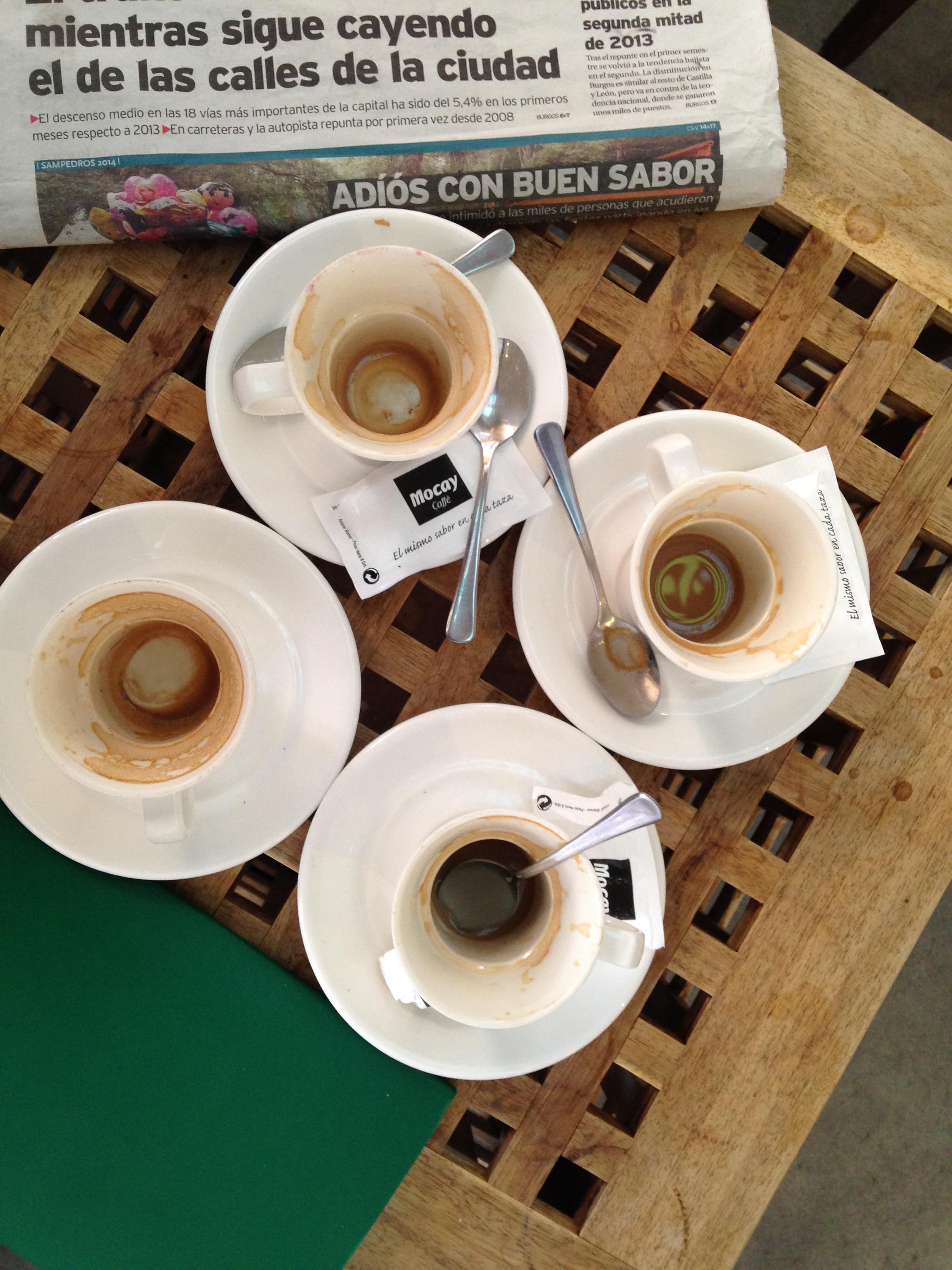 espresso cups, Burgos