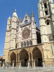 cathedral, Leon, Spain