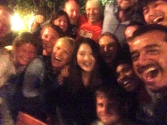 Last Night in Santiago, Camino Family