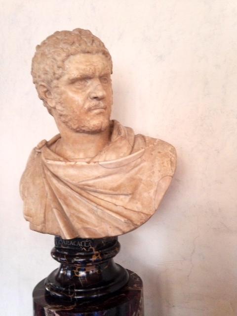 Bust of Caracalla, Uffizi Gallery, Florence
