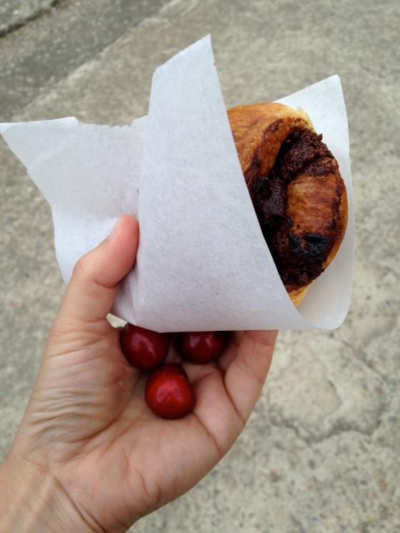 Cherries & Croissant
