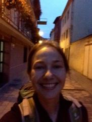 Selfie on the Camino de Santiago, 2