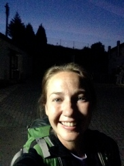 Last selfie on the Camino