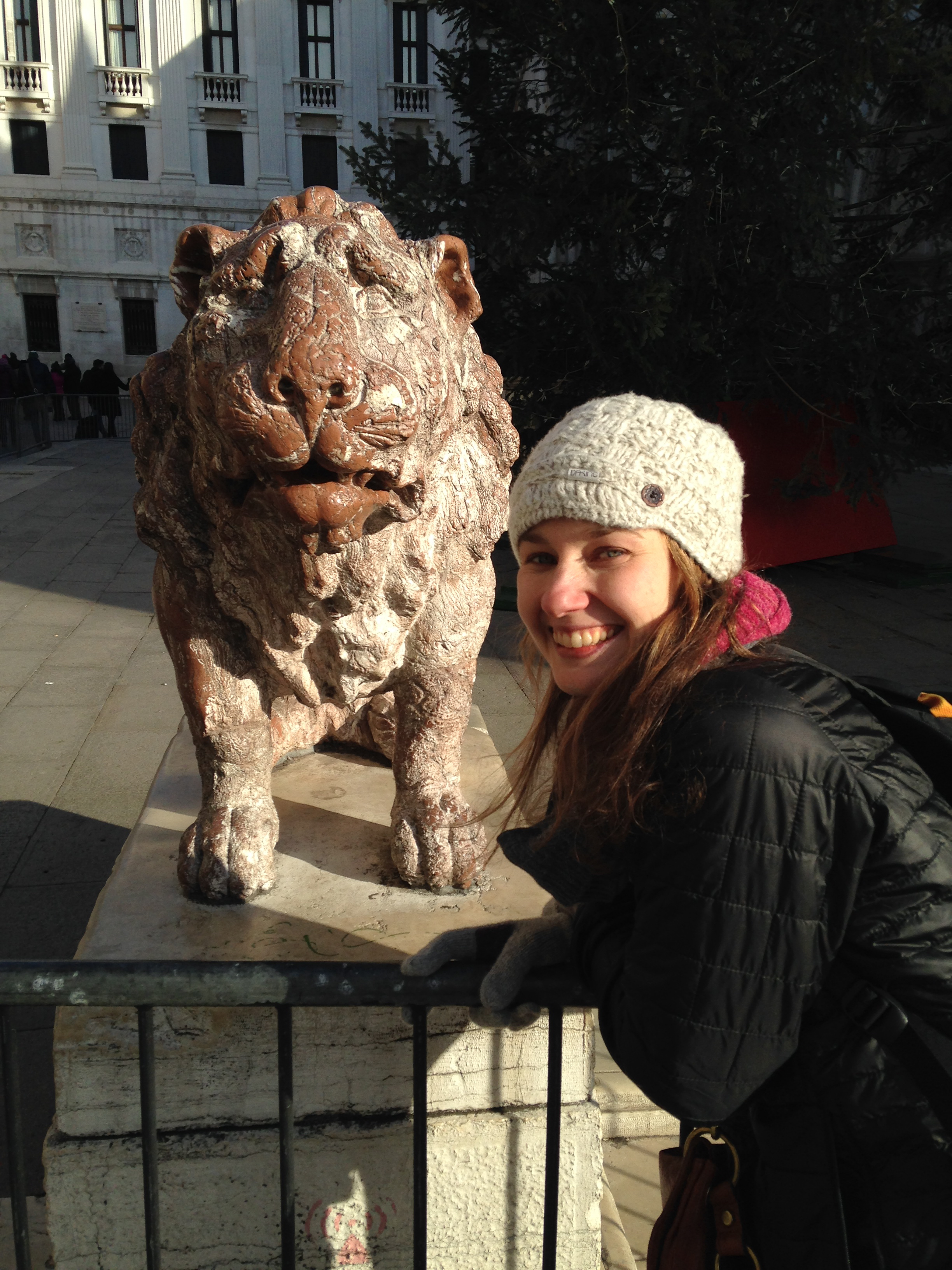 Nadine & Lion, Venice, Italy