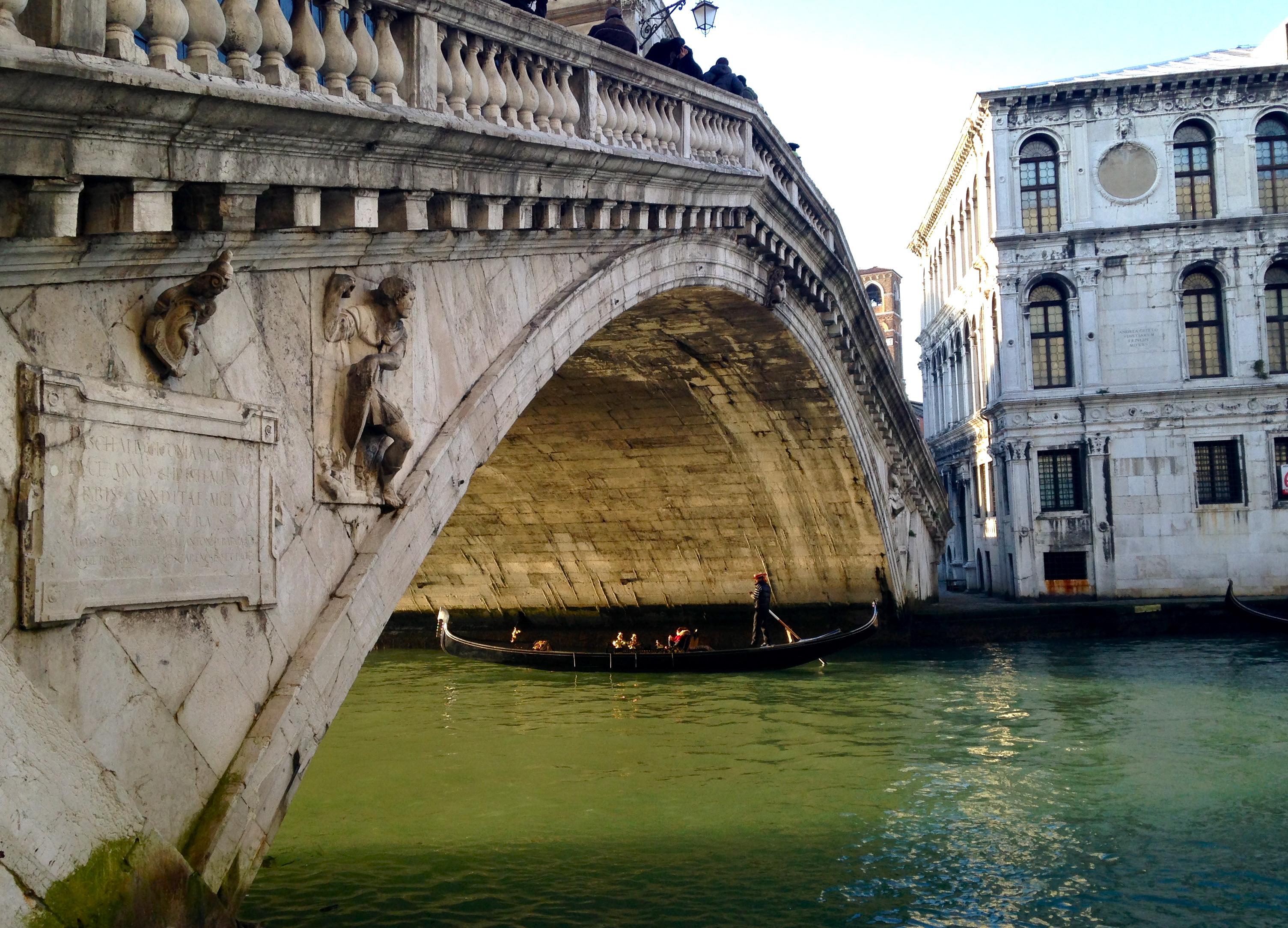 Bridge & Gondola, Venice, Italy