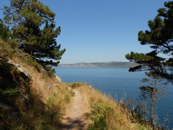 Trail on Islas Cies
