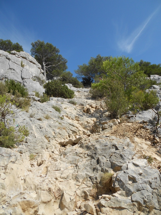 Rock Wall, Calanques, France