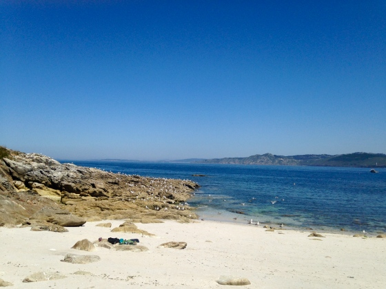 My private beach, Islas Cies