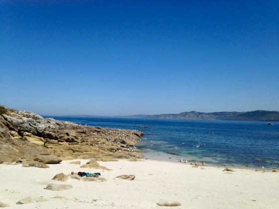 My private beach, Islas Cies