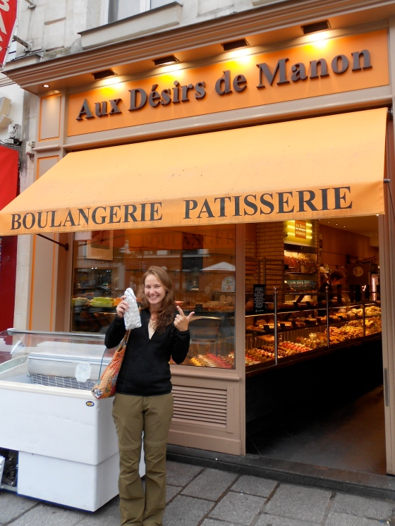 Baguette in Paris