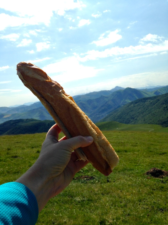 Sandwich in the Pyrenees