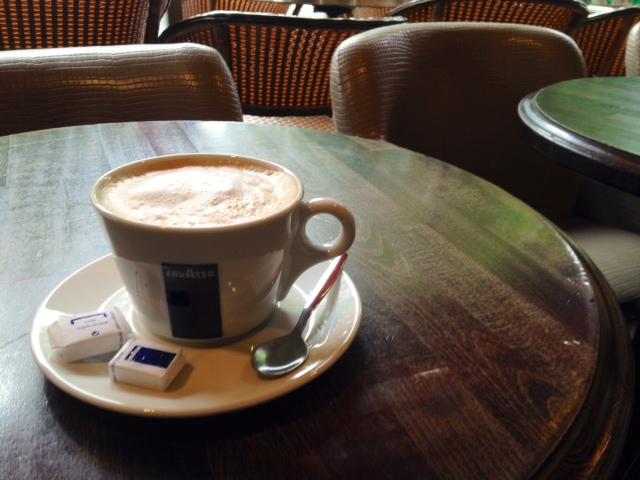 café crème, Paris