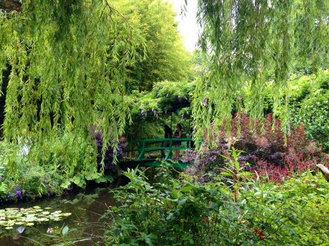 Japanese bridge, Giverny, France