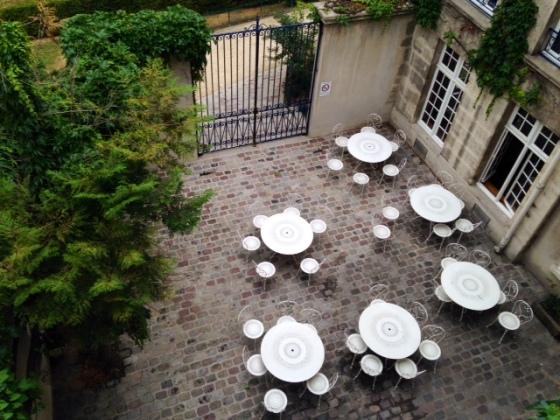 MIJE courtyard, Paris