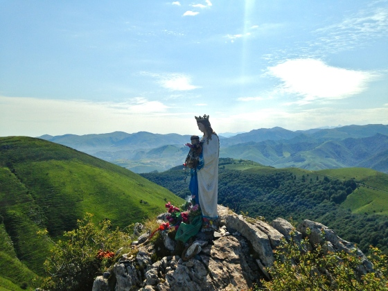 Madonna in the Pyrenees, Camino de Santiago