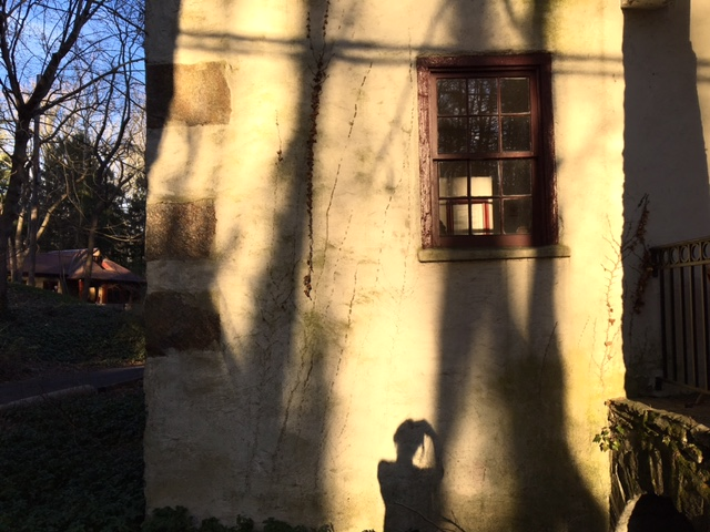 Shadow on Hedgerow Theater, Rose Valley, PA