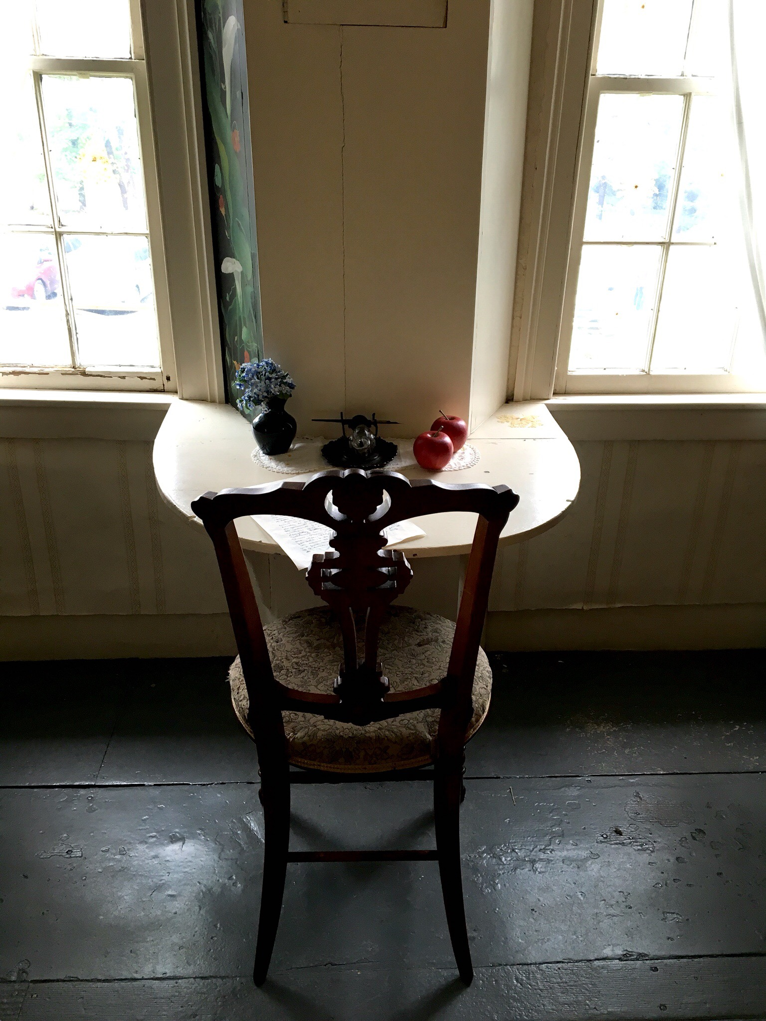 Louisa May Alcott's desk, Concord MA